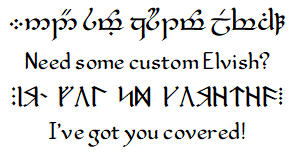 Custom Elvish Project