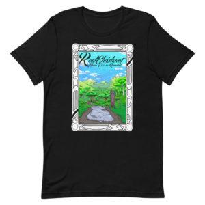 RealElvish Valley Painting Short-Sleeve Unisex T-Shirt